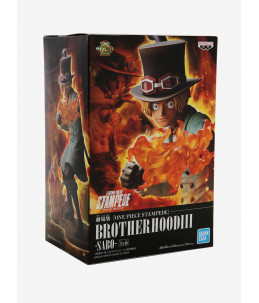 Banpresto Figurine One Piece Stampede - Brother Hood III - Sabo