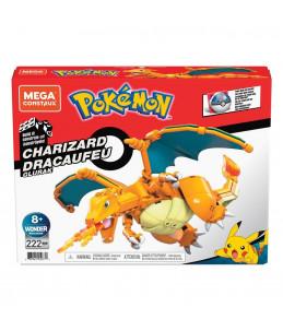 Méga Contrux Pokémon - Dracaufeu 10cm