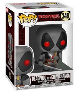 Funko POP! Marvel n°349 Deadpool with Chimichanga (Exclusive)