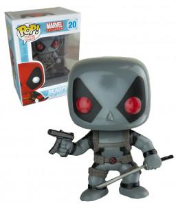 Funko POP! Marvel n°20 Deadpool X-Force (gris) (Exclusive)