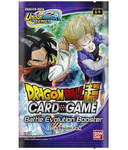 "[FR] Dragon Ball Super - Boosters de 12 cartes ""Booster Battle Evolution"""
