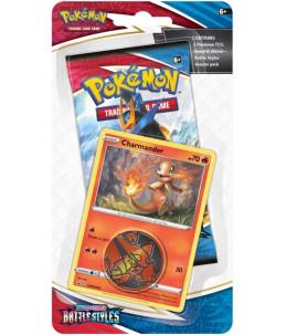 """[EN] Pokémon Checklane Blister """"SWSH05 Battle Styles"""" Charmander (Salamèche)"""