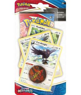 "[EN] Pokémon Premium Checklane Blister ""SWSH05 Battle Styles"" Corviknight (Corvaillus)"
