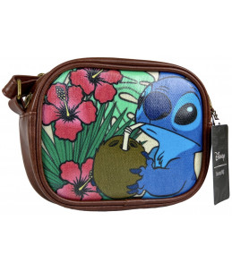 """PRECO 31/01/21 Loungefly Disney """"Lilo & Stitch"""" Coconut Crossbody Purse Bag (Entertainement Earth Exclusive)"""