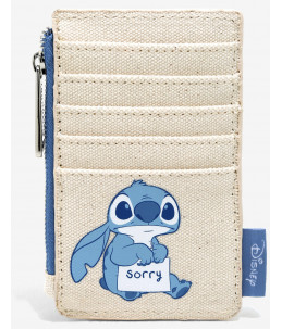 Loungefly Disney Lilo & Stitch Sorry Cardholder (BoxLunch Exclusive)