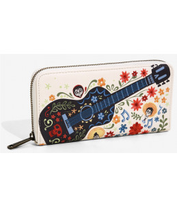 Loungefly Disney Pixar Coco Floral Wallet (BoxLunch Exclusive)