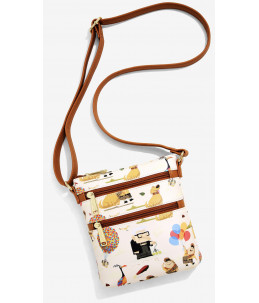 Loungefly Disney Pixar Up Characters Allover Print Crossbody Bag (BoxLunch Exclusive)