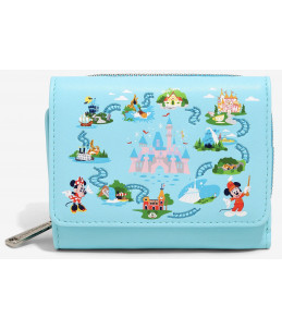 Loungefly Disneyland 65th Anniversary Small Wallet (BoxLunch Exclusive)