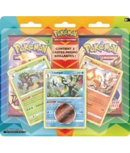 [FR] Pokémon Duopack Gorythmic, Pyrobut et Lézargus