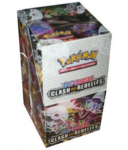 "[FR] Pokémon Display ""EB02 Clash des Rebelles"" 18 Boosters"