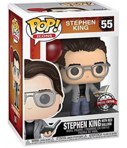 copy of Funko POP! Stephen King n°55 Stephen King With Red Baloon (Special Edition)