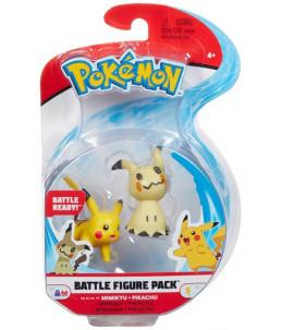 Pokémon Battle Figure Pack - Mimiqui et Pikachu