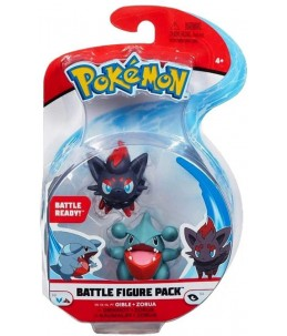 Pokémon Battle Figure Pack - Griknot et Zorua