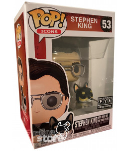 Funko POP! Stephen King n°53 Stephen King with Molly aka the Thing of Evil (FYE Exclusive)nce (GITD Go! Exclusive)