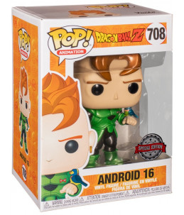 Funko POP! Dragon Ball n°708 Android 16 (Special Edition)
