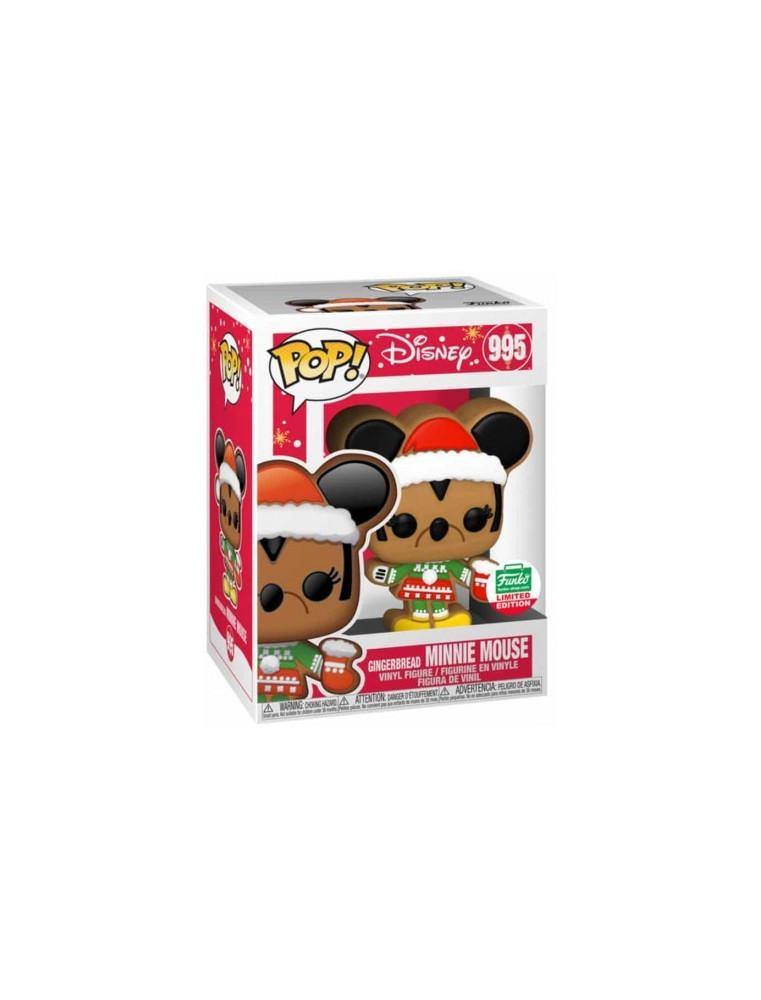 Funko POP! Disney n°995 Gingerbread Minnie Mouse (Funko Shop Exclusive)