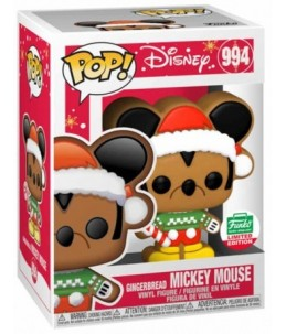 Funko POP! Disney n°994 Gingerbread Mickey Mouse (Funko Shop Exclusive)