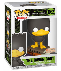 Funko POP! The Simpsons n°1032 The Raven Bart (Boxlunch Exclusive)