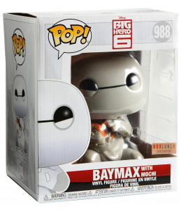 Funko POP! Big Hero 6 n°988 Baymax with Moshi (GITD Boxlunch Exclusive)