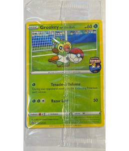 [EN] Pokémon Carte Promo Futsal 003/005 Grookey on the Ball (Booster Scellé)