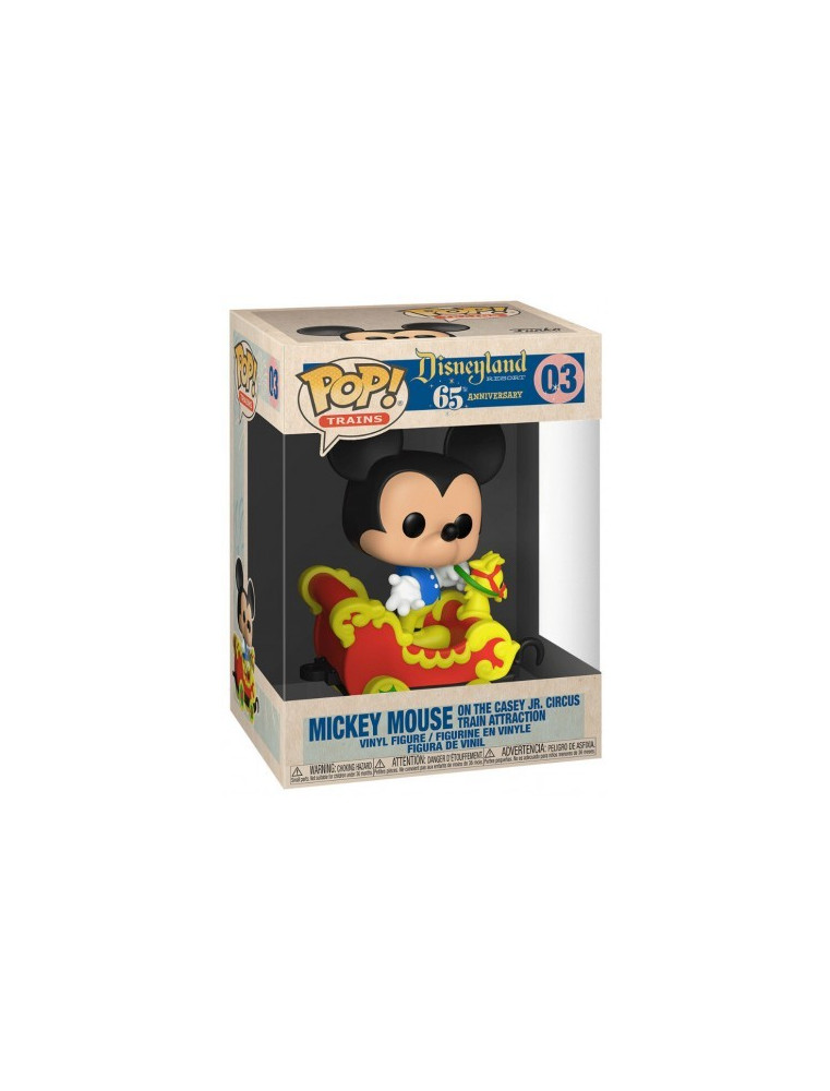 Funko POP! Disney 65th n°03 Mickey Mouse on the Casey JR. Circus Train Attraction