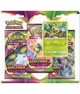 "[FR] Pokémon Tripack ""EB04 Voltage Eclatant"" Ouistempo"