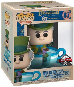 Funko POP! Disney 65th n°87 Mad Hatter and the Mad Tea Party Attraction (Special Edition)