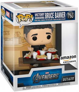 Funko POP! Marvel n°755 Victory Shawarma Series : Bruce Banner (Amazon Exclusive) 1/6