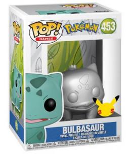 Funko POP! Pokémon n°453 Bulbasaur (Bulbizarre) (25th Gold Chrome)