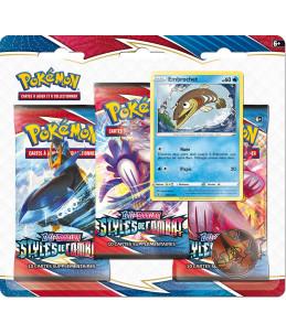 "[FR] Pokémon Tripack ""EB05 Styles de Combat"" Embrochet"