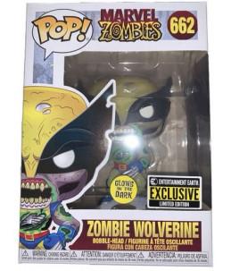 Funko POP! Marvel Zombies n°662 Zombie Wolverine (GITD Entertainment Earth Exclusive)