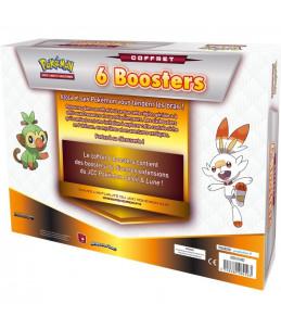 """[FR] Pokémon Coffret 6 Boosters """"Epée et Bouclier"""""""