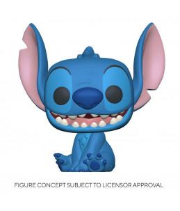 Preco 30/09/21 Funko POP! Disney n°XXX Stitch Seated Smiling
