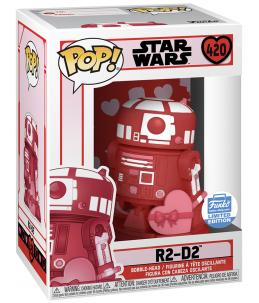 Funko POP! Star Wars n°420 R2-D2 Valentine (Funko Shop Exclusive)
