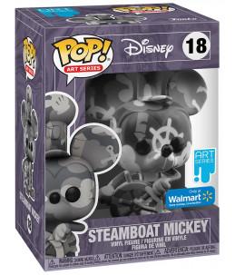 Funko POP! Disney Art Series n°18 Steamboat Mickey (Walmart Exclusive)