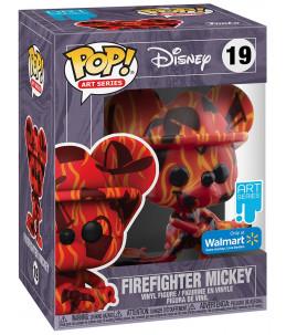 PRECO 31/05/21 Funko POP! Disney Art Series n°19 Fire Fighter Mickey (Walmart Exclusive)