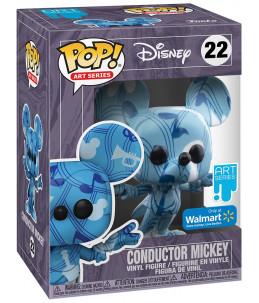 PRECO 31/05/21 Funko POP! Disney Art Series n°22 Conductor Mickey (Walmart Exclusive)