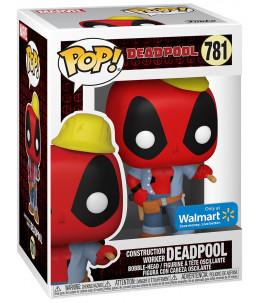 Funko POP! Marvel n°781 Construction Worker Deadpool (Walmart Exclusive)
