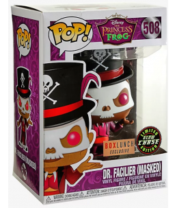 Funko POP! La Princesse et la Grenouille n°508 Dr. Facilier (Masked) CHASE (Boxlunch Exclusive)ive)