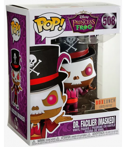 Funko POP! La Princesse et la Grenouille n°508 Dr. Facilier (Masked) (Boxlunch Exclusive)ive)