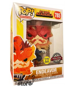 Funko POP! My Hero Academia n°785 Endeavor (GITD Special Edition)