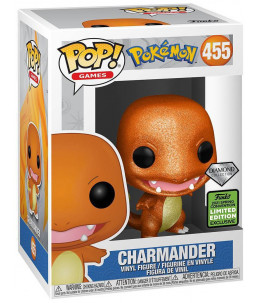 Funko POP! Pokémon n°455 Charmander (Salamèche) (Diamond 2021 Spring Con. Exclusive)