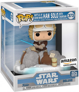 Funko POP! Star Wars n°373 Battle at Echo Base : Han Solo and Taun Taun (Amazon Exclusive) 2/6