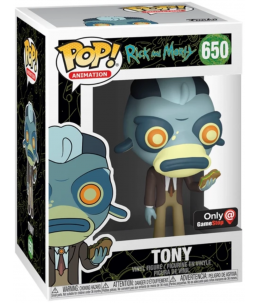 Funko POP! Rick et Morty n°650 Tony (GameStop Exclusive)