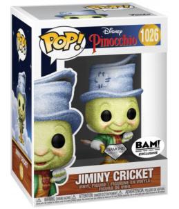 Funko POP! Pinocchio n°1026 Jiminy Cricket (Diamond BAM! Exclusive)