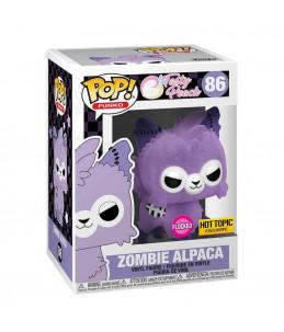 Funko POP! Tasty Peach n°86 Zombie Alpaga (Flocked Hot Topic Exclusive)