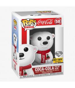 Funko POP! Coca-Cola n°58 Coca-Cola Polar Bear (Diamond Hot Topic Exclusive)