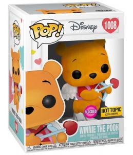 Funko POP! Disney n°1008 Winnie The Pooh (Valentine Flocked Hot Topic Exclusive)