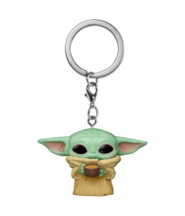 Funko Pocket POP! Keychain Star wars - The Child With Cup