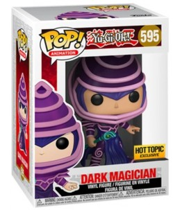 Funko POP! Yu-Gi-Oh! n°595 Dark Magician (Hot Topic Exclusive)